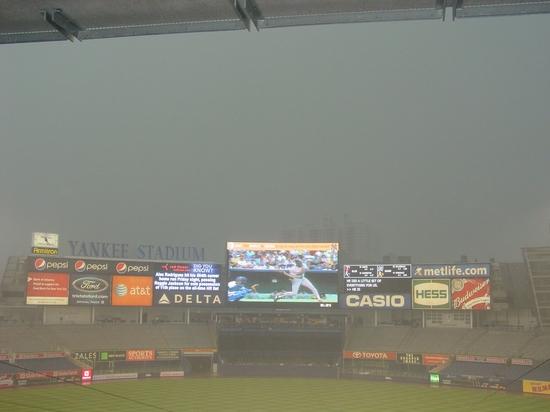 yankee stadium rain.JPG